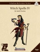 Echelon Reference Series: Witch Spells IV (3pp+PRD)