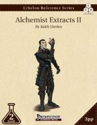 Echelon Reference Series: Alchemist Extracts II (3pp+PRD)