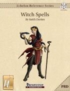 Echelon Reference Series: Witch Spells Compiled (PRD-Only) [BUNDLE]