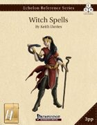 Witch Spells Compiled (3pp+PRD) [BUNDLE]