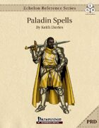 Echelon Reference Series: Paladin Spells Compiled (PRD-Only)