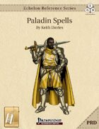 Echelon Reference Series: Paladin Spells Compiled (PRD-Only) [BUNDLE]