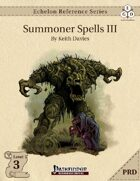Echelon Reference Series: Summoner Spells III (PRD-Only)