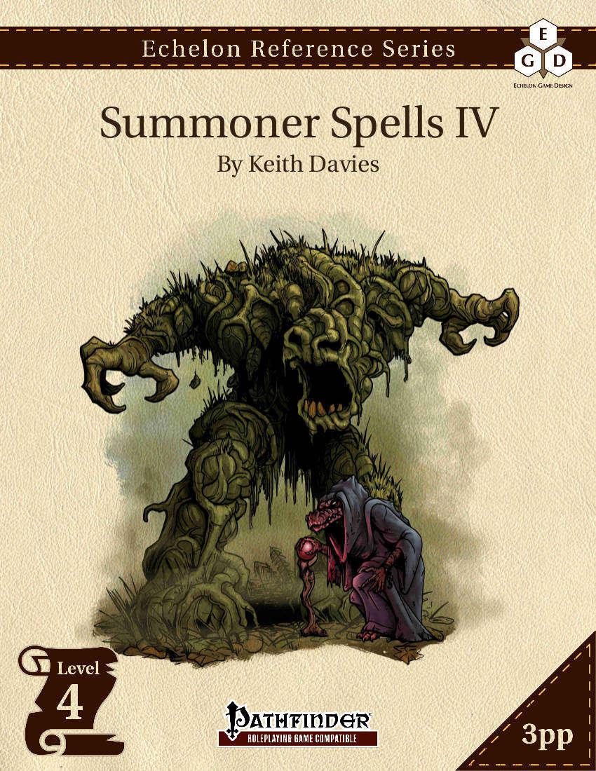 Summoner spells iv 3pp prd echelon game design drivethrurpg com