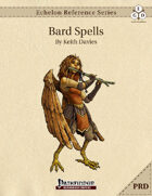 Echelon Reference Series: Bard Spells Compiled (PRD-Only)