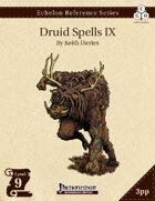 Echelon Reference Series: Druid Spells IX (3pp+PRD)