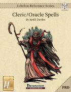 Echelon Reference Series: Cleric/Oracle Spells Compiled (PRD-Only) [BUNDLE]