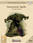 Echelon Reference Series: Summoner Spells Compiled (PRD-Only) [BUNDLE]