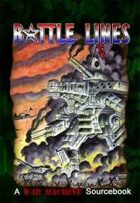 War Machine: Battle Lines Sourcebook