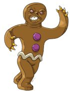 Stock Art: Gingerbread Golem