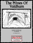 (PR1)The Mines of Valdhum