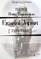 Feudal Japan Army Expansion BETA
