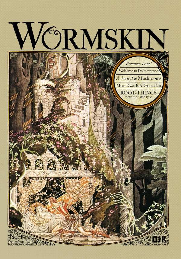 Wormskin Issue 1 - Necrotic Gnome | Dolmenwood | DriveThruRPG com