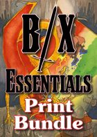 B/X Essentials Premium Print Bundle [BUNDLE]
