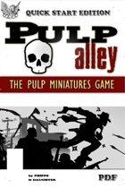 Pulp Alley - Quick Start PDF