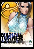 Michael Turner Sketchbook 2010: Aspen: The Early Years Volume 1
