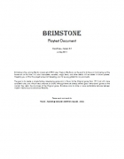 Brimstone Playtest - v0.2