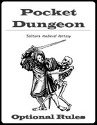Pocket Dungeon: Optional Rules