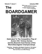 The Boardgamer Magazine - Volume 7, Issue 1