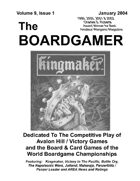 The Boardgamer Magazine - Volume 9, Issue 1