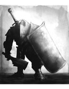 Warrior with Cleaver_TowerShield_Greatsword_grayscale