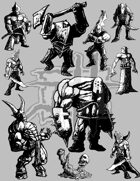 Printable Miniatures Set 8