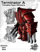 Terminator A Solo Paper Mini