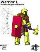 Warrior L Solo Paper Mini