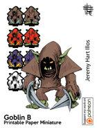 Goblin B Solo Paper Mini
