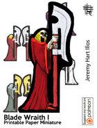 Blade Wraith I Solo Paper Mini