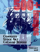 Complete Stock Art Catalog Bundle Jan 2018 [BUNDLE]