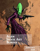Alien Stock Art Bundle Jan 2018 [BUNDLE]