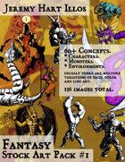 JH Illos Fantasy Stock Art Pack 1