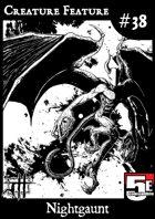 Creature Feature #38 Nightgaunt 5e