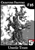 Creature Feature #16 Unseelie Treant CR6 (5e)