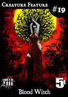 Creature Feature #19 Blood Witch CR3 (5e)