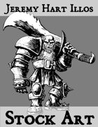 Orc Warrior 1 Stock Art