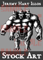 Monster 1 Stock Art