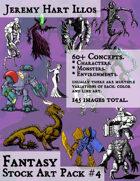 JH Illos Fantasy Stock Art Pack 4