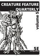 Creature Feature Quarterly vol. 5 (5e)