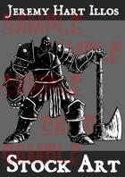 Warrior 6 Stock Art
