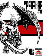 Creature Feature Sept 2019 Index Card RPG Mode