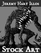 Horror 2 Stock Art