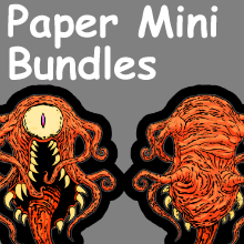 Printable Paper Miniatures Bundles