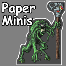 Printable Paper Miniatures