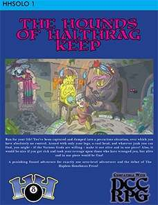 HHSOLO 1 - The Hounds of Halthrag Keep