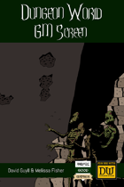 Dungeon World GM Screen (Color w/out Art)