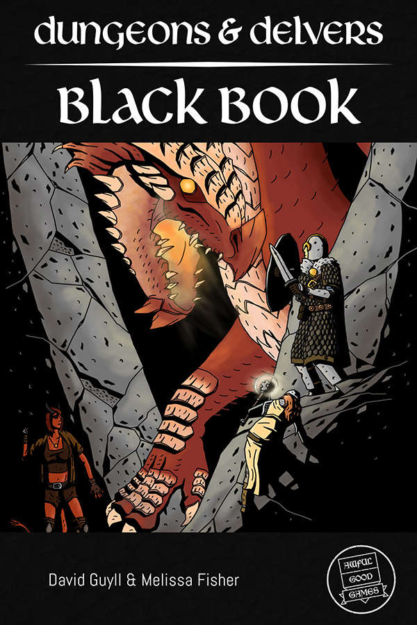 Dungeons delvers black book awful good games dungeons quick preview fandeluxe Gallery