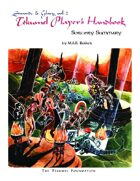 The Tekumel Player's Handbook Sorcery Summary - Swords & Glory Vol. 2