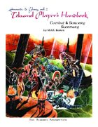 The Tekumel Player's Handbook Combat and Sorcery Summary - Swords & Glory Vol. 2